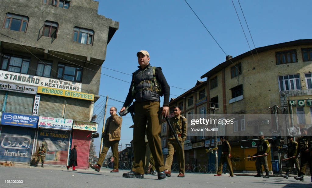 Curfew Restrictions Enforced After Youth Killing In Kashmir