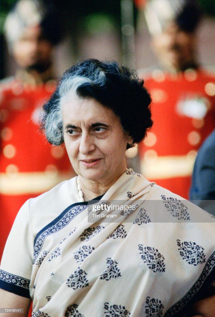Indian Prime Minister Indira Ghandi India