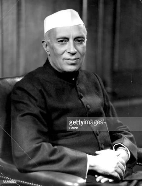 Indian Prime Minister Jawaharlal Nehru