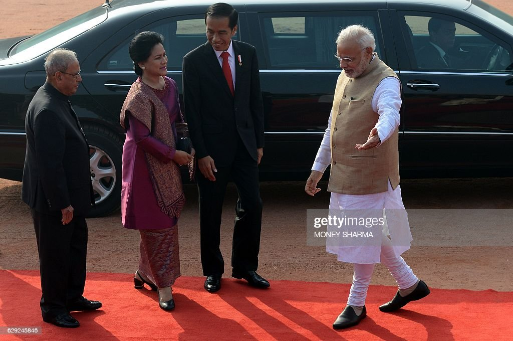 Indonesian President Joko Widodo on official visit to India