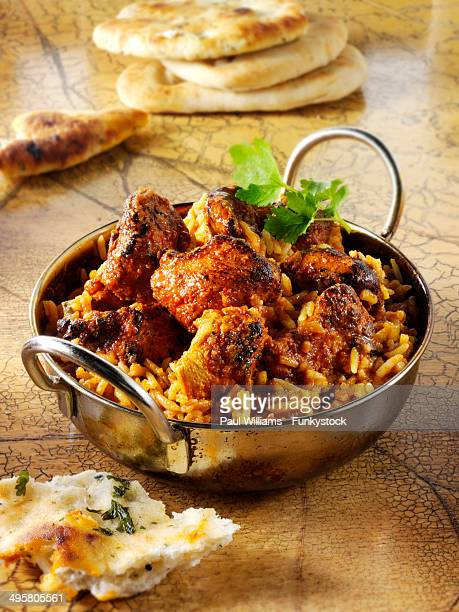 Indian Rogan Josh chicken curry
