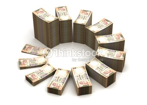 Indian Ru Chart Stock Photo