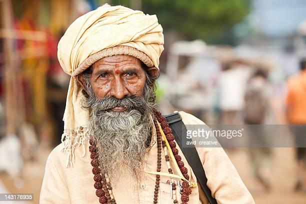 Indian Sadhu or Holy Man