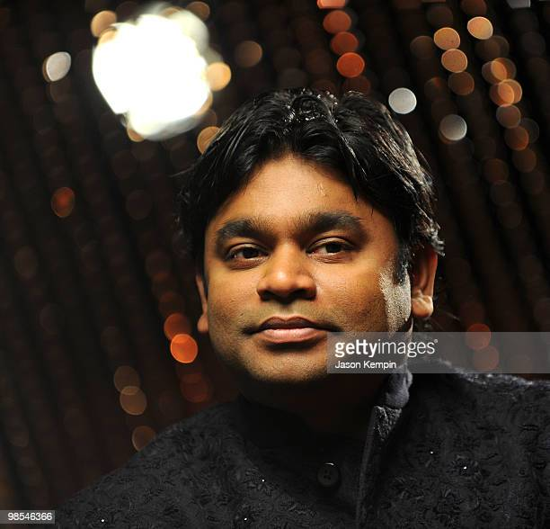 Indian singer AR Rahman hosts a press conference for his upcoming tour at K Lounge on April 19 2010 in New York City