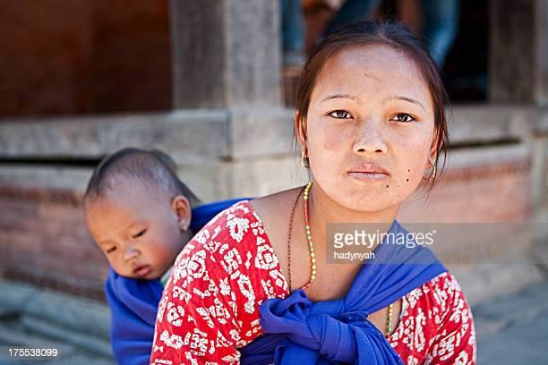 Indian street Verkäufer in Kathmandu.