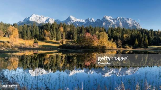 Indian Summer at Karwendel Mountains, Bavarian Alps, XXL Panorama