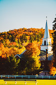 Indian Summer in White Mountain National Forest, New Hampshire, USA