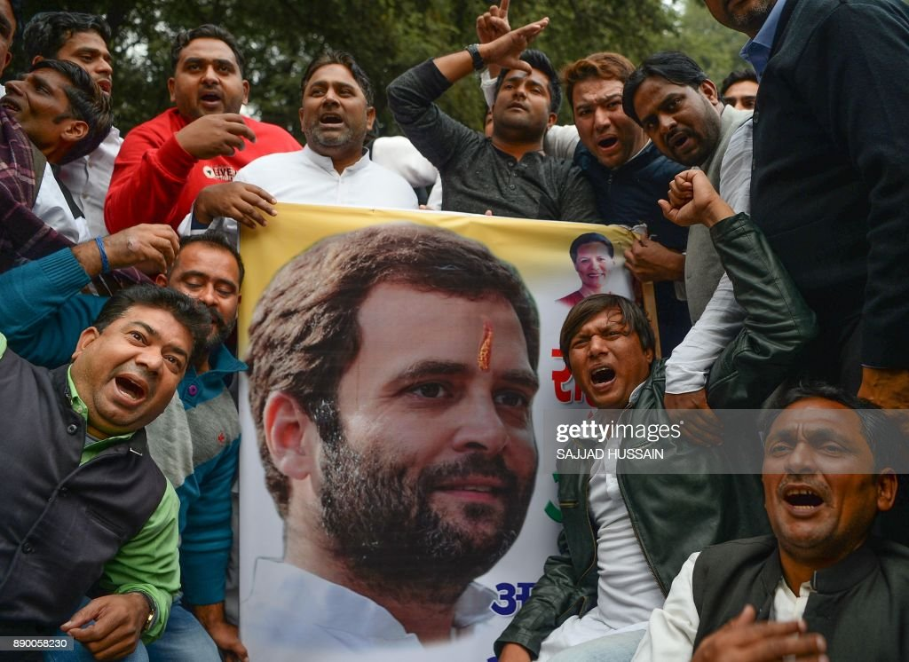 Rahul Gandhi named new President of the Congress Party