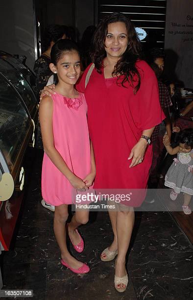 Indian television and bollywood actor Mansi Joshi Roy during International Women's Day party which is hosted by Maria Goretti at Haagen Dazs lounge...
