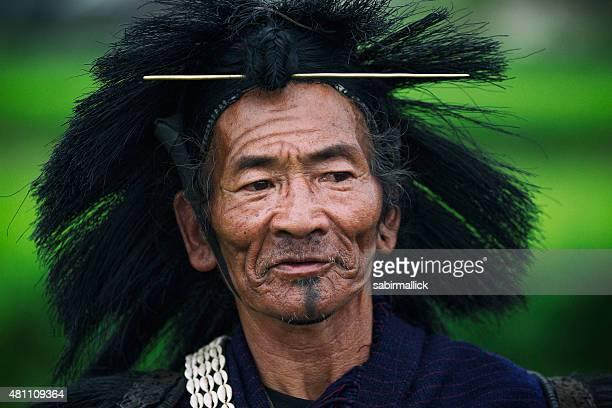 Indian Tribal men- India.