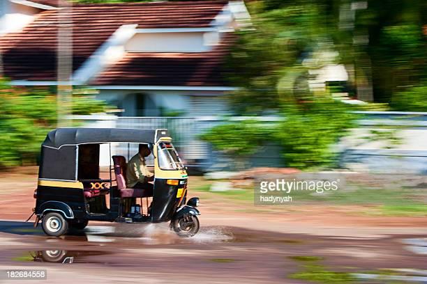 Indian tuktuk - rickshaw