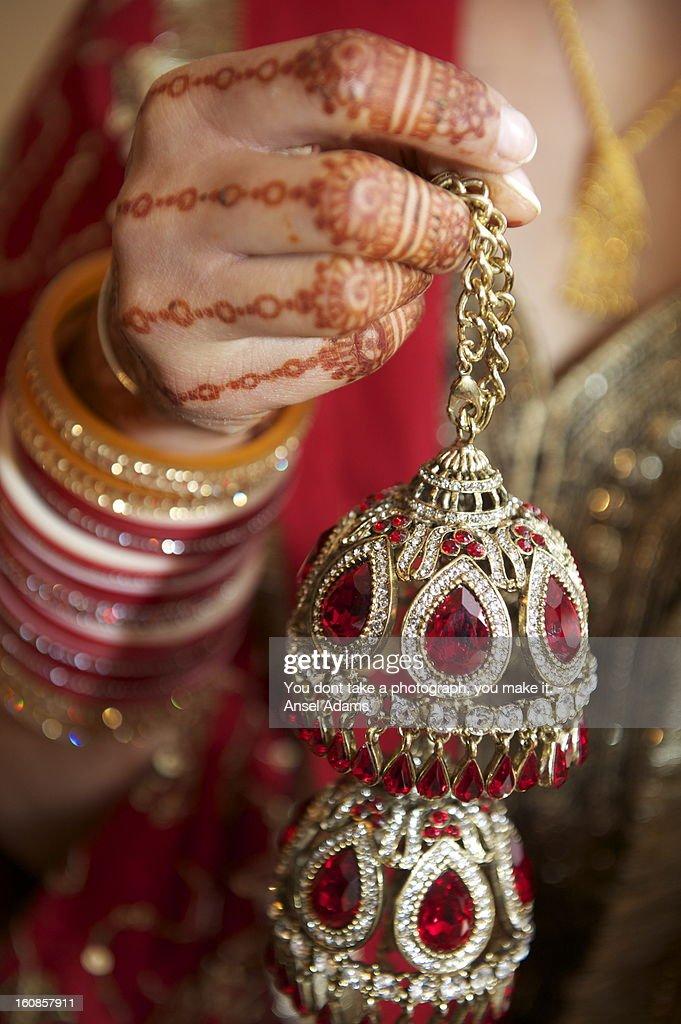 indian wedding chura stock photo getty images