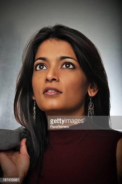 Indian woman's headshot