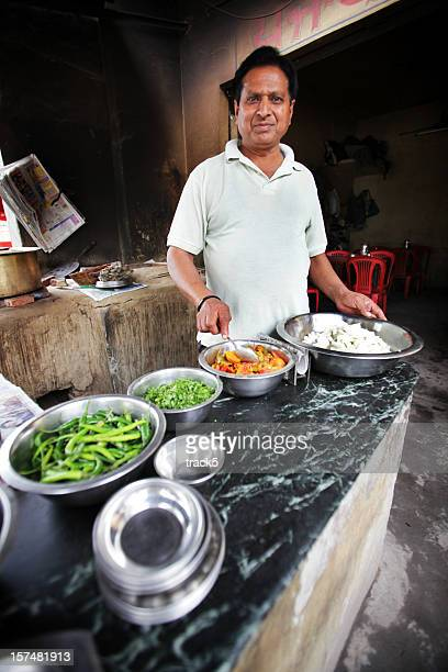 Indian workers: dhaba chef
