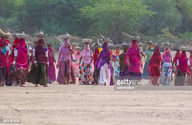 Indian working women, Rajasthan, India