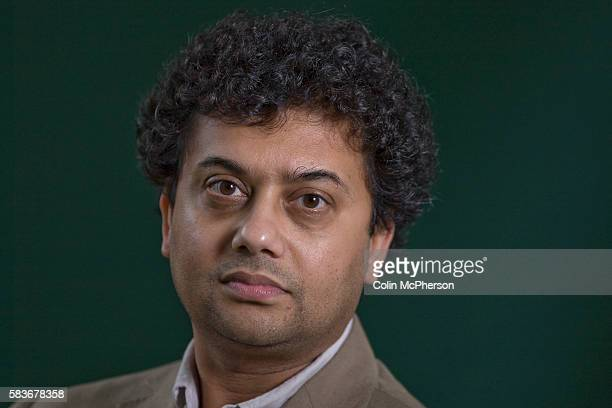 Indian writer Neel Mukherjee pictured at the Edinburgh International Book Festival where he talked about his debut novel entitled 'A Life Apart' The...