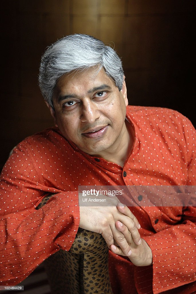 PARIS, FRANCE - MAY 21. Indian writer Vikas Swarup poses during a portrait session held on May 21, 2010 in Paris, France.