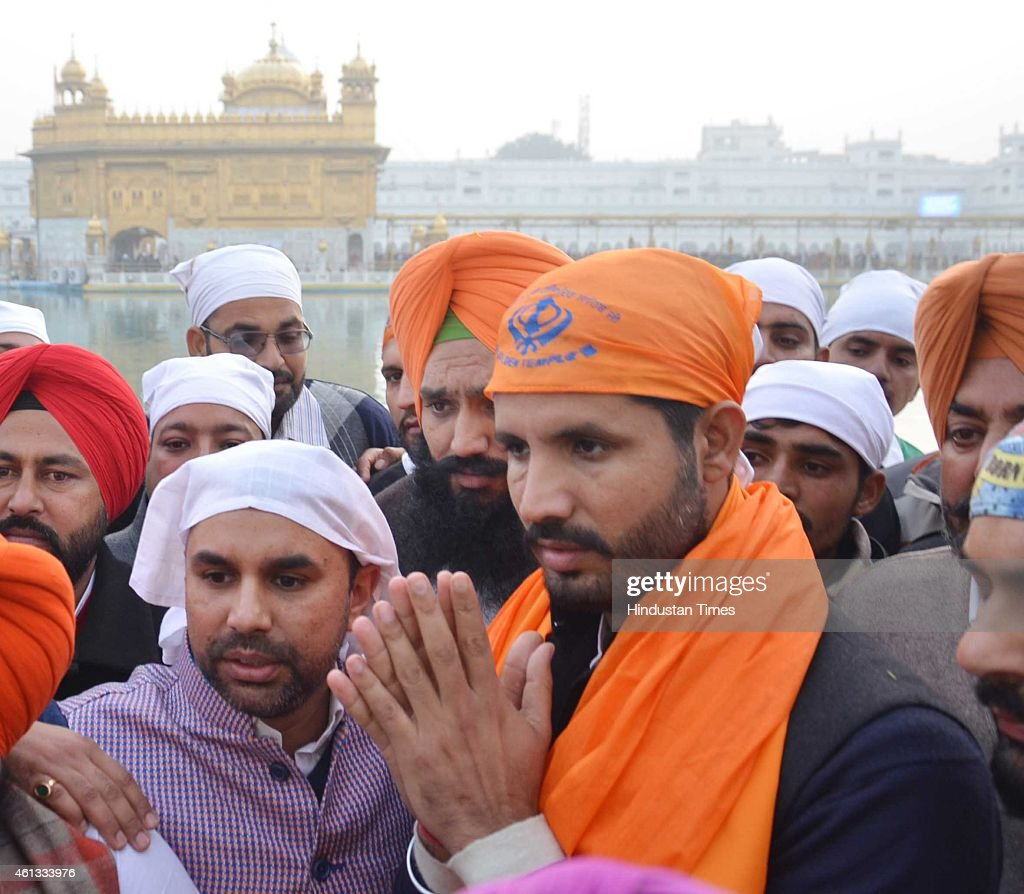 Indian Youth Congress President Amrinder Raja Warring