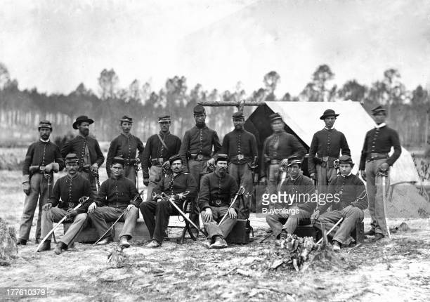 Indiana Cavalry Detachment at the Siege of Petersburg Virginia 1864 The 3rd Regiment Indiana Cavalry also designated the 45th Regiment Indiana...