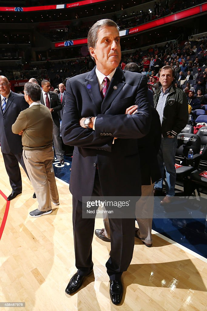 Indiana Pacers head coach Randy Wittmanbefore the game on November 5 2014 at Verizon Center in Washington DC NOTE TO USER User expressly...