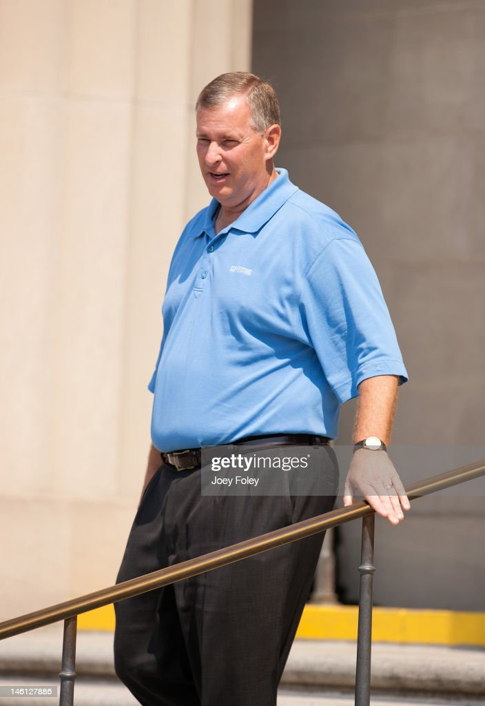 Indianapolis Mayor Greg Ballard attends the IPL 500 Festival Parade on May 26, 2012 in Indianapolis, Indiana.