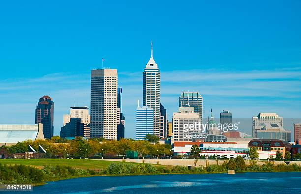 Indianapolis Skyline and River