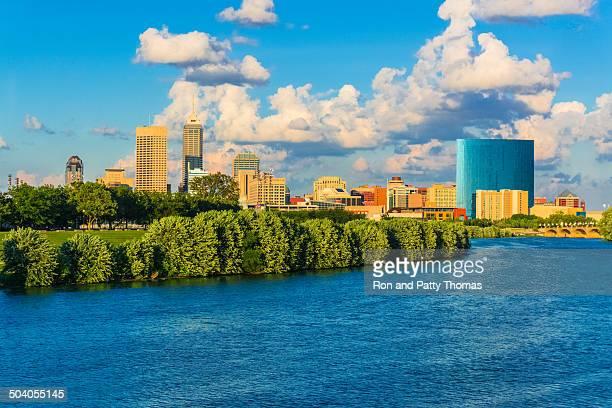 skyline di Indianapolis, Indiana (P)