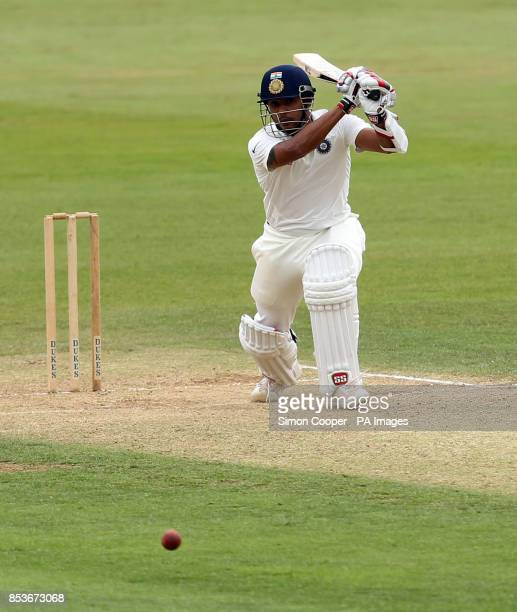 Indians' Stuart Binny during day two of the International warm up match at The 3aaa County Ground Derby