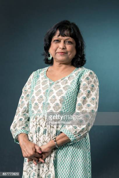 IndianScottish poet children's writer translator and editor Bashabi Fraser attends a photocall during the annual Edinburgh International Book...