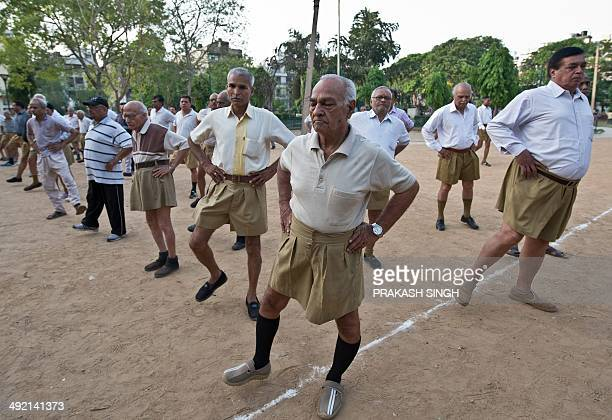 IndiapoliticsreligionRSSFOCUS by RACHEL O Indian senior swayamsevaks or volunteers from the Rashtriya Swayamsevak Sangh the country's biggest...
