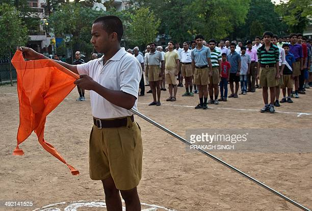 IndiapoliticsreligionRSSFOCUS by RACHEL O Indian swayamsevaks or volunteers from the Rashtriya Swayamsevak Sangh the country's biggest grassroots...