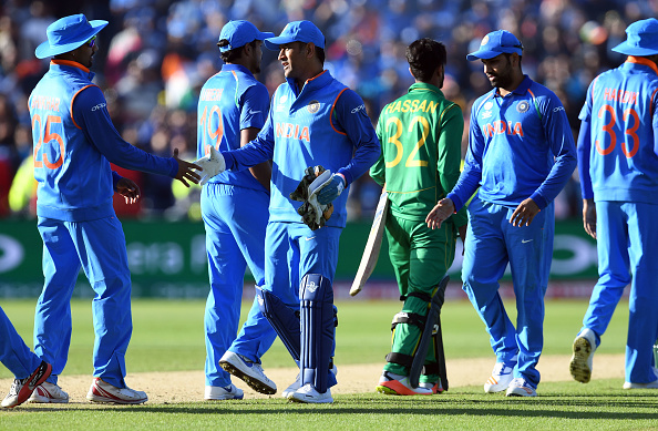 CRICKET-CT-2017-IND-PAK : News Photo