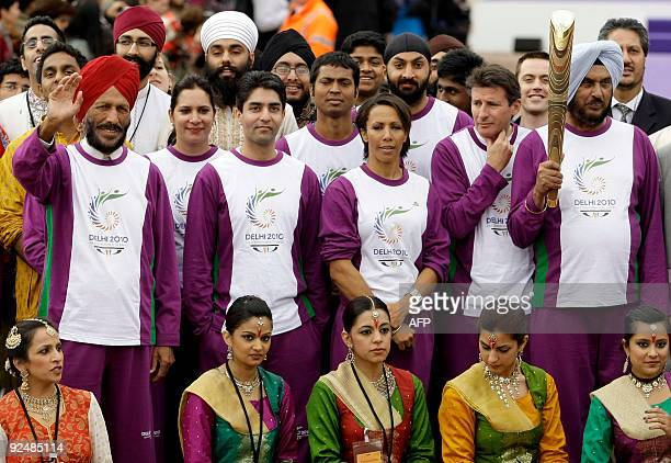 India's former decathlete and now Chairman of the Selection Committee of the Athletics Federation of India Gurbachan Singh Randhawa poses for...