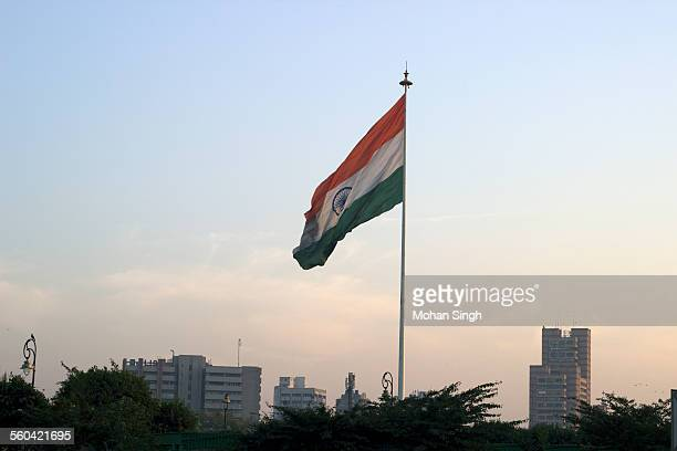 India's largest flag in Connaught Place