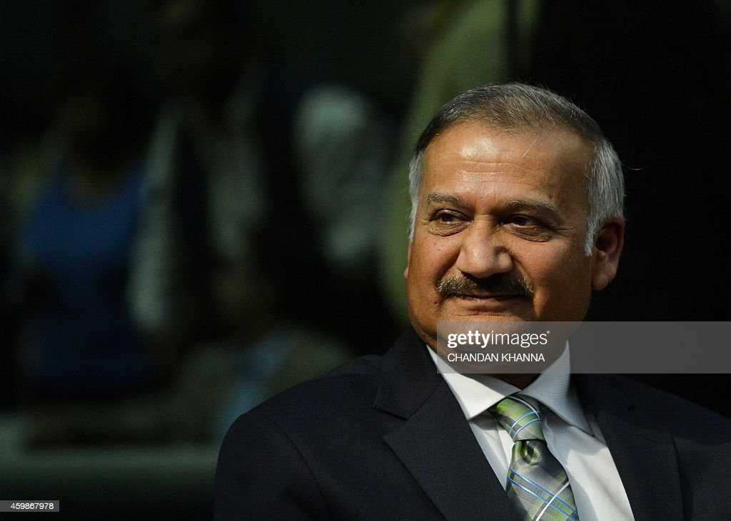 India's newlyelected Central Bureau of Investigation director Anil Kumar Sinha speaks to media at CBI headquarters in New Delhi on December 3 2014...