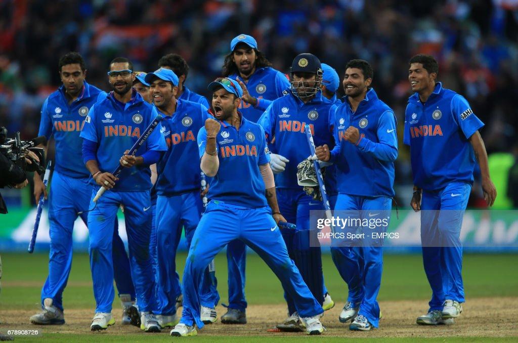 Cricket - ICC Champions Trophy - Final - England v India - Edgbaston : News Photo