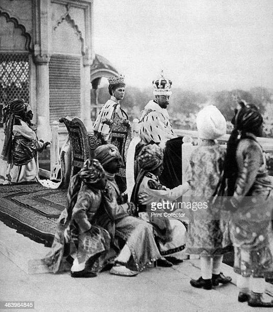 India's princely pages George V and Queen May in Delhi The King and Queen travelled to India to attend the Delhi Durbar held to celebrate their...