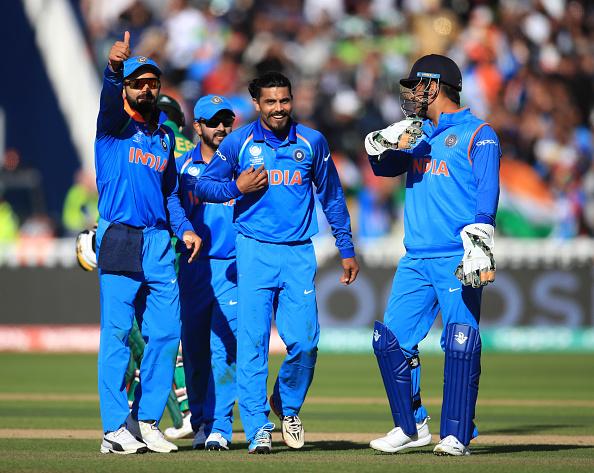 India v Pakistan - ICC Champions Trophy - Group B - Edgbaston : News Photo