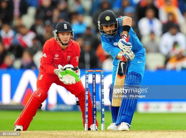India's Virat Kohli during the ICC Champions Trophy Final at Edgbaston Birmingham