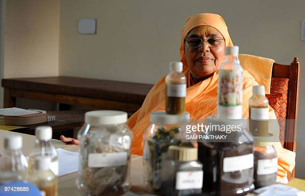 Indiasciencemedicineresearchcows FEATURE by Rupam Jain Nair In this February 27 2010 photograph Shree Maa Anantanand sits behind medicine made from...