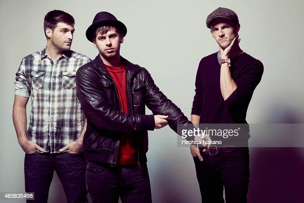 Indie band Foster the People are photographed on January 18 2012 in Tokyo Japan