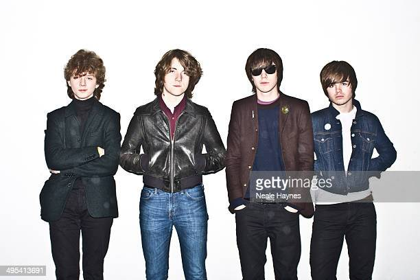 Indie band the Strypes are photographed on December 6 2013 in London England