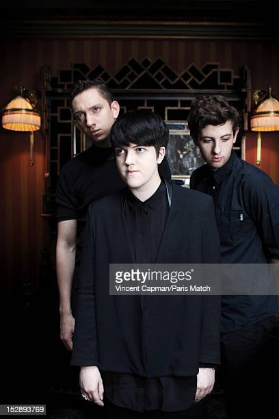 Indie band The XX are photographed for Paris Match on June 6 2012 in Paris France