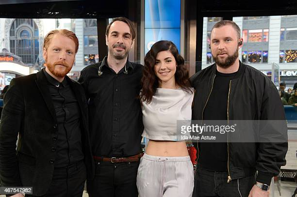 AMERICA Indie group Marina and the Diamonds perform live on GOOD MORNING AMERICA 3/25/15 airing on the ABC Television Network