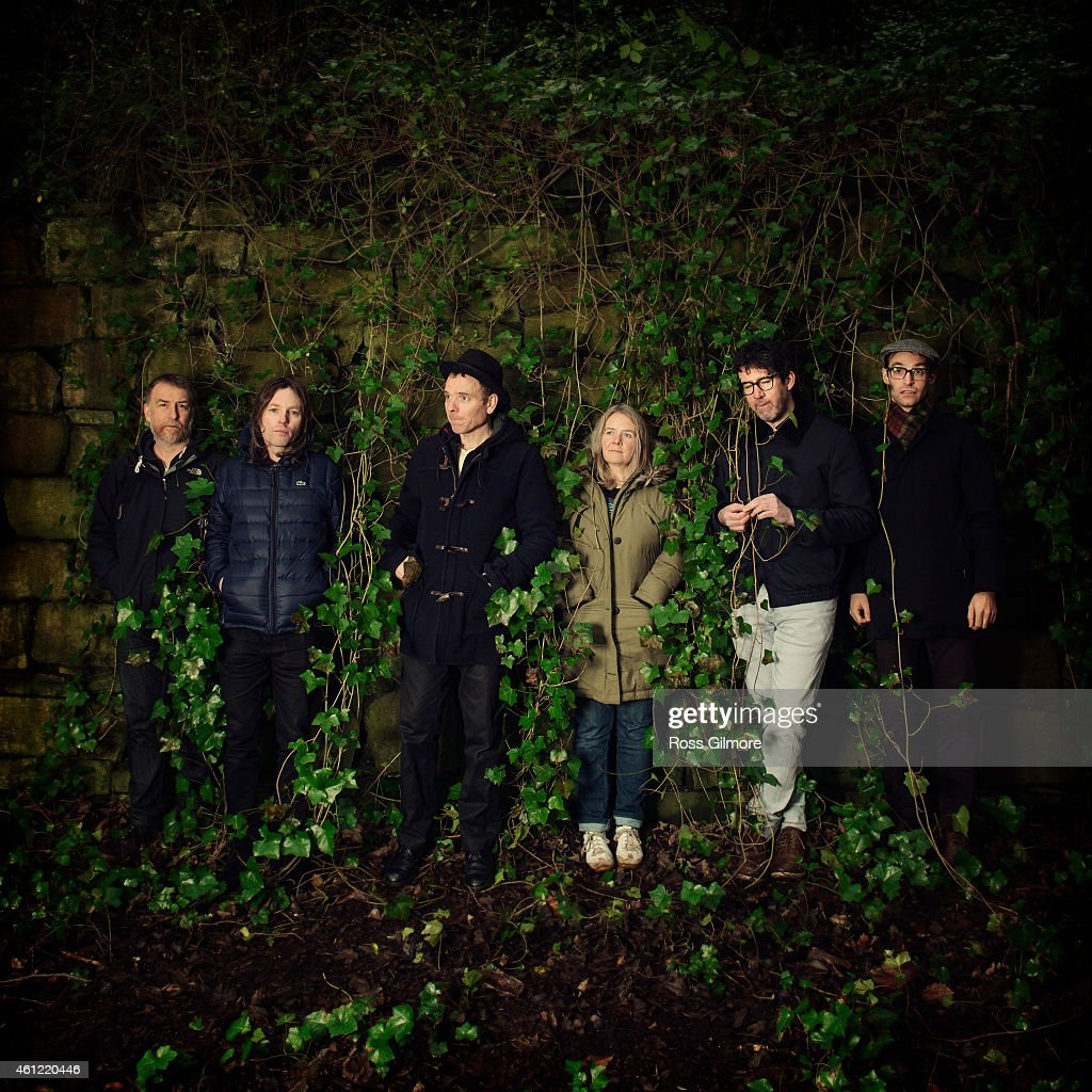 Indie pop band <a gi-track='captionPersonalityLinkClicked' href=/galleries/search?phrase=Belle+%26+Sebastian&family=editorial&specificpeople=716543 ng-click='$event.stopPropagation()'>Belle & Sebastian</a> is photographed for Skinny magazine on December 12, 2014 in Edinburgh, Scotland.