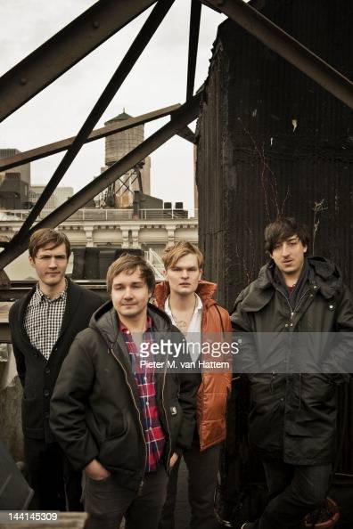 Indie rock band Grizzly Bear photographed for the April 2009 Uncut UK in New York City