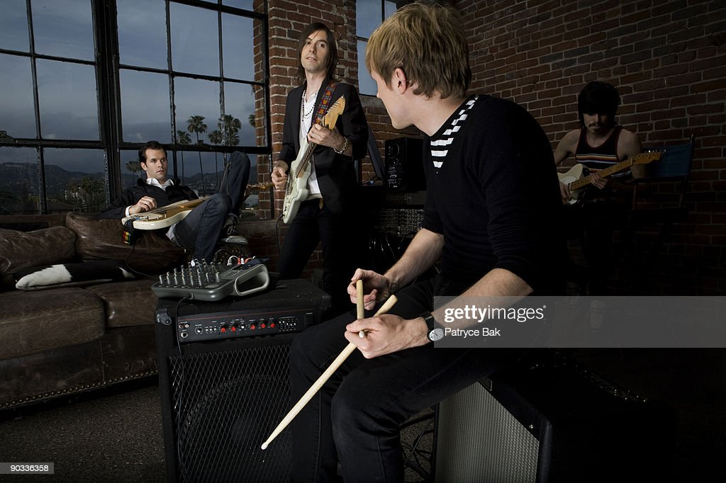 Indie Rock Band : Stock Photo