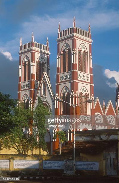 Indien Tamil Nadu Pondicherry Kirche Sacre Coeur De Jesus 2003