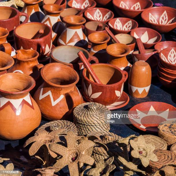 Indigenous Pottery, Creel, Copper Canyon, Mexico