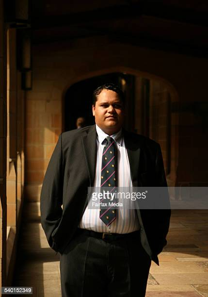 Indigenous student Craig Ashby is indigenous education at Sydney University 1 March 2007 SHD Picture by JACKY GHOSSEIN